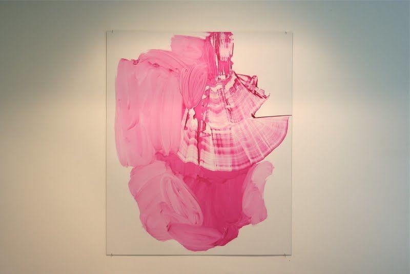 sarjasta Joko Nuppulinna meni? /öljy alumiinille 2010 / 180 x 150 cm