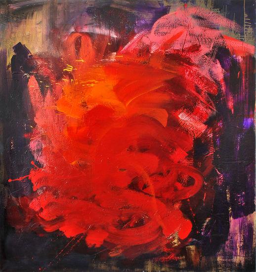 Myrsky, 2015, öljy kankaalle, 140x140cm
