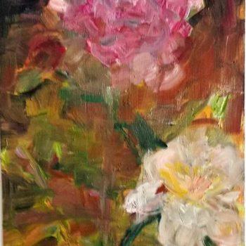 Teoksen nimi: Due rose