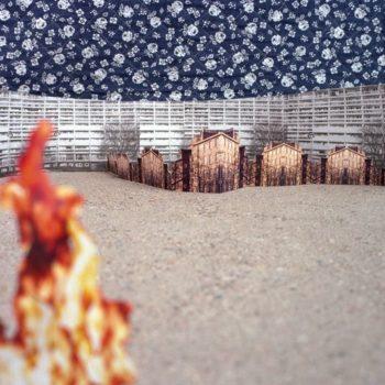 Teoksen nimi: Vieraassa kaupungissa ajoin takaa öistä tulipaloa