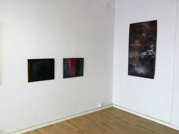 Näyttelykuva / Fragmentteja ajassa ja tilassa,  Laterna Magica 2015