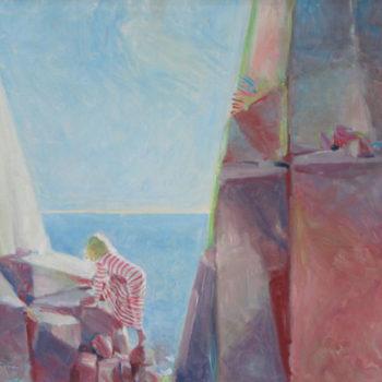 Teoksen nimi: Drömställe, 1981, 53 X 70