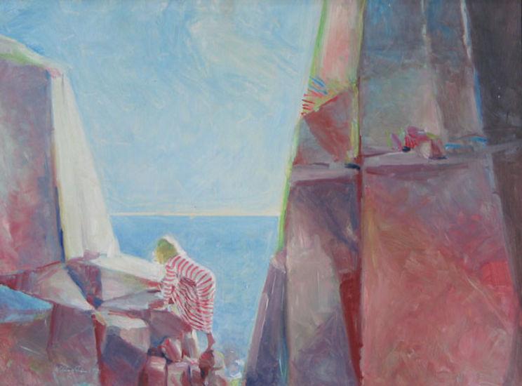 Drömställe, 1981, 53 X 70