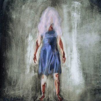 Teoksen nimi: Violetti mekko