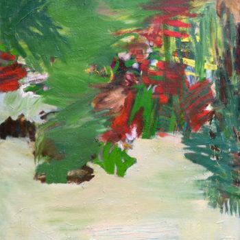 Teoksen nimi: Yö teltassa vastarannalla männyt ja kuu (Kolovesi), 2011