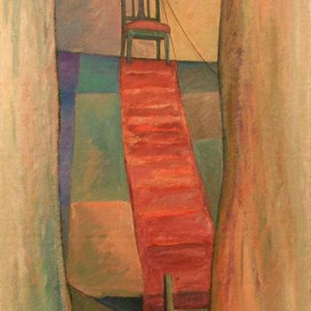 Teoksen nimi: Tuoli katolla, 1995