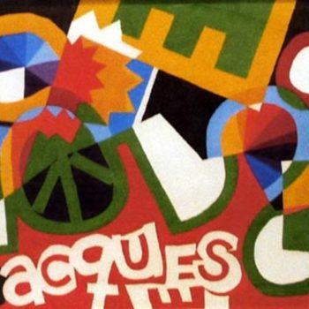 Teoksen nimi: Jacques Pyöräilijä