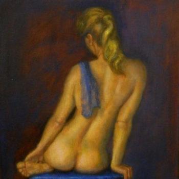 Teoksen nimi: Sininen alaston