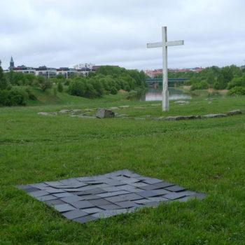 Teoksen nimi: Square 3 days, Olohuone 306,4,m2 Kaupunkitaidefestivaalit, Koroistenniemi, Turku, 2017