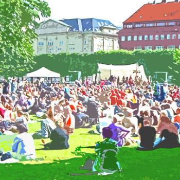 Teoksen nimi: Rosenborg Park