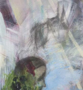 Teoksen nimi: Summer Morning acrylic/mixed media on canvas 2002