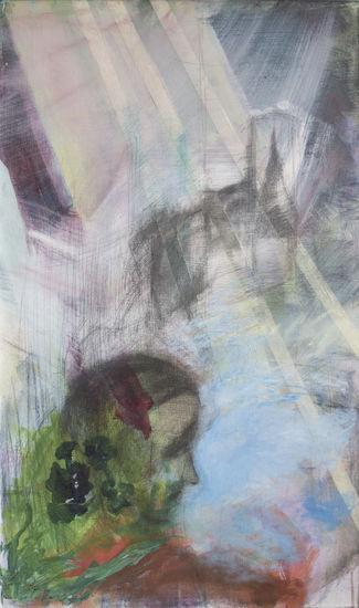Summer Morning acrylic/mixed media on canvas 2002