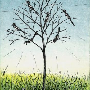 Teoksen nimi: Rääkypuu