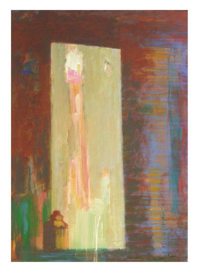 Peilissä (In The Mirror), 2011, akryyli/acrylic, 100 x 70 cm