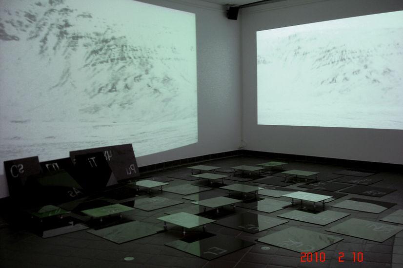 In Tempus Praesens 2010/ Audiovisual video-installation/ Malmintalo Vantaa, Finland