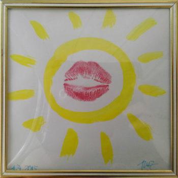 Teoksen nimi: pieni taideteos galleria espoonsillan kesäikkunan 2015 varten.