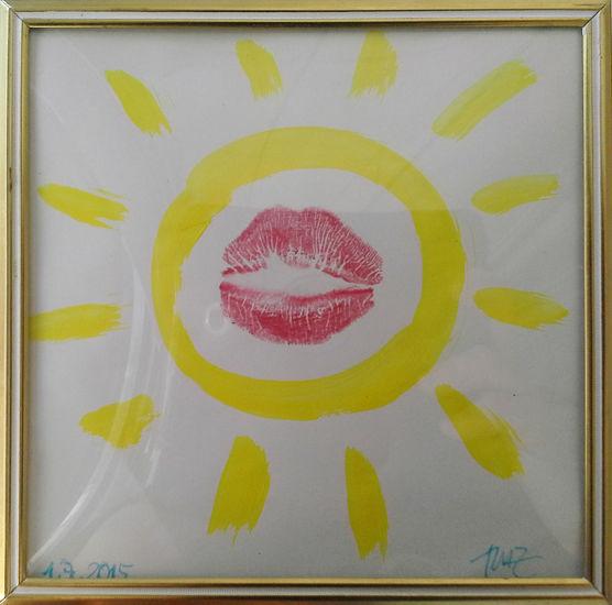 pieni taideteos galleria espoonsillan kesäikkunan 2015 varten.