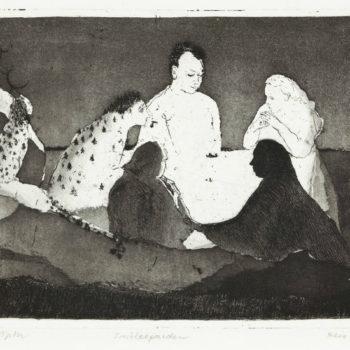 Teoksen nimi: Lumileopardi / Snow leopard