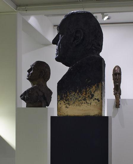 Alvar Aalto, Joonas Kokkonen ja Pertti Niemistö Tampereen taidemuseon näyttelyssä 2004
