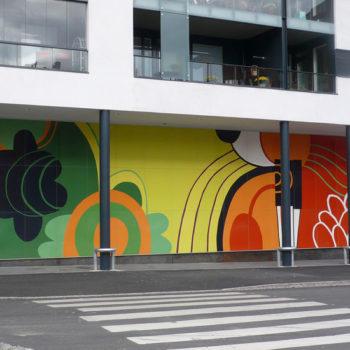 Teoksen nimi: Wonderland, 2009, Arabianranta, Helsinki