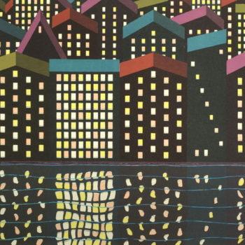 Teoksen nimi: Talot ja valot