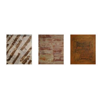 Teoksen nimi: Aavekaupunki trilogia: Lähiön talvi, terrekotta fasadit, ruosteinen portti