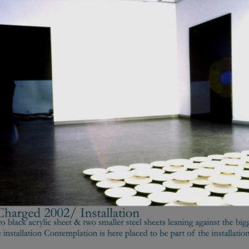 Teoksen nimi: Void Charged / 2002 / Joensuu Art Museum fFinland