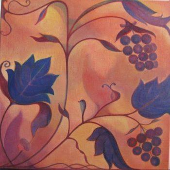 Teoksen nimi: Viinipuu / The True Vine