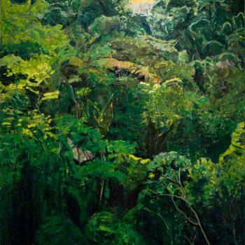 Teoksen nimi: Viidakko / Jungle
