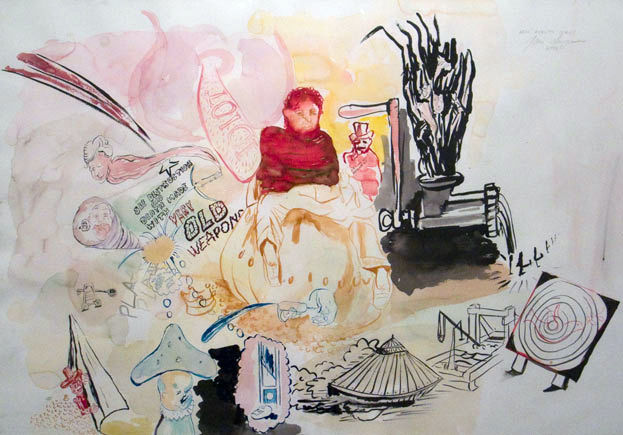 New Reality Series, 2006, watercolour on paper, 70×100 cm