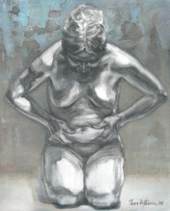 """""""Saavutus"""", öljyväri, 2011"""