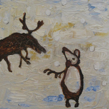 Teoksen nimi: Karhun ja hirven voimaa