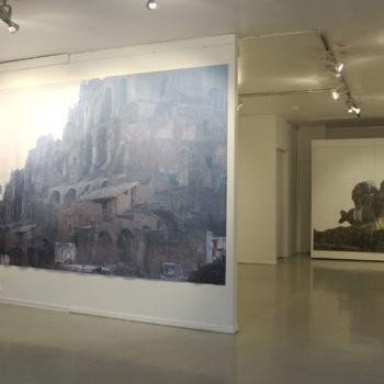 Teoksen nimi: Näkymä Galleria Joellasta,2011