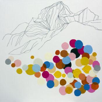 Teoksen nimi: I really hate pointillism, 2011