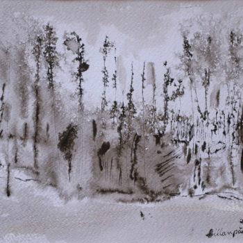 Teoksen nimi: Kevättalvea/Wintertime