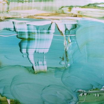 Teoksen nimi: Unelma kesästä / öljy alumiinille / 50 x 50 cm
