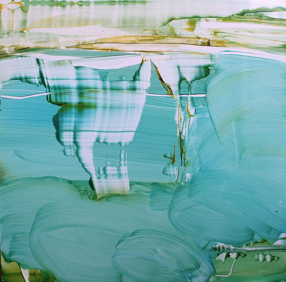 Unelma kesästä / öljy alumiinille / 50 x 50 cm