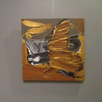 Teoksen nimi: Kultaus harmaalle / Dourado em cinza