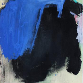 Teoksen nimi: Sininen ja musta