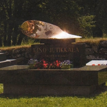 Name of the work: Eino Jutikkalan hautamuistomerkki 2009, Sääksmäki