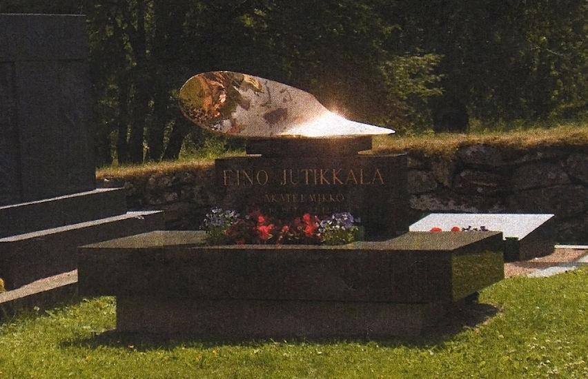 Eino Jutikkalan hautamuistomerkki 2009, Sääksmäki