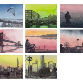 Teoksen nimi: Miniatyyrimaalauksia, 2011