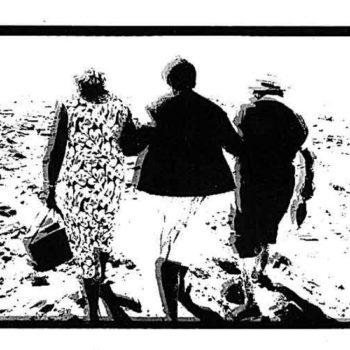 Teoksen nimi: Lune de miel en Finistère, 1989