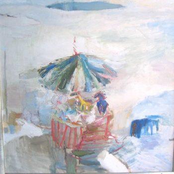 Teoksen nimi: Talvikaruselli   –   Winter Carousel              (2003)