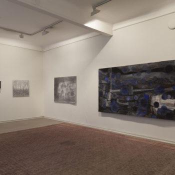 Teoksen nimi: Tilakuva näyttelystä/ 2017, Taidesalonki, Helsinki