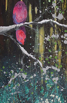 Name of the work: Beautiful Feeling, 2016