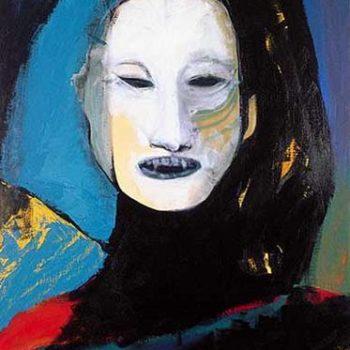 Name of the work: Komedienne, 1991