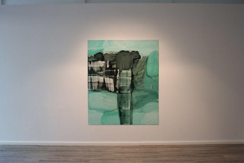 sarjasta Joko Nuppulinna meni? /öljy alumiinille / 2010 / 180 x 150 cm