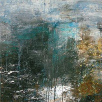 Teoksen nimi: Lampi, 2008