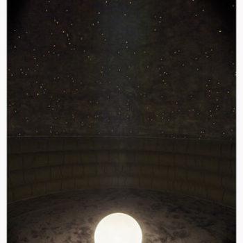 Teoksen nimi: Spitted Space /Sylkäisty avaruus, 2013 (detail / yksityiskohta)